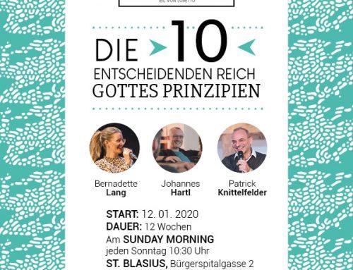 12-teilige Serie über die 10 Reich-Gottes-Prinzipien